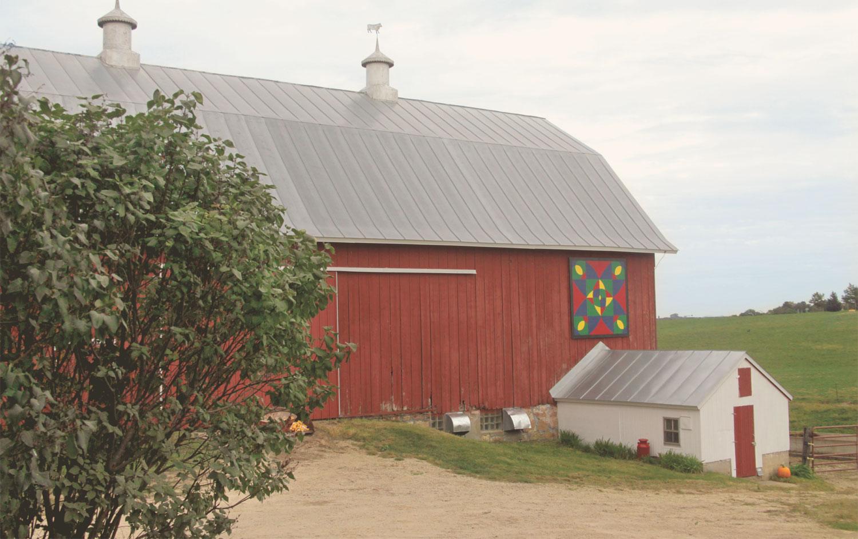 Betsy's Barn Quilt